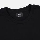 Мужская футболка Stussy Basic Black фото- 1