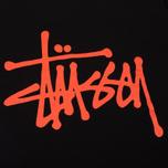 Мужская футболка Stussy Basic Black/Orange фото- 3
