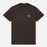 Мужская футболка Stussy Basic Charcoal фото- 0
