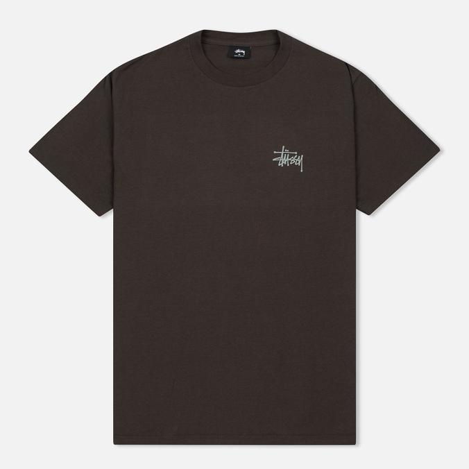 Мужская футболка Stussy Basic Charcoal