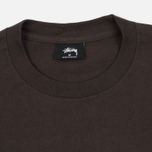 Мужская футболка Stussy Basic Charcoal фото- 1
