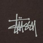 Мужская футболка Stussy Basic Charcoal фото- 2