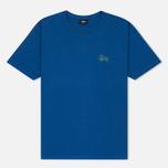 Мужская футболка Stussy Basic Dark Blue фото- 0