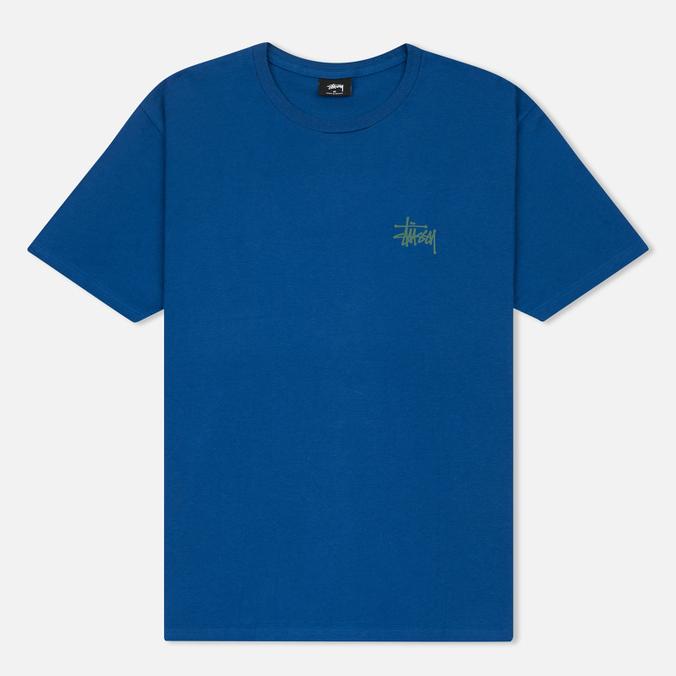 Мужская футболка Stussy Basic Dark Blue