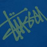 Мужская футболка Stussy Basic Dark Blue фото- 3