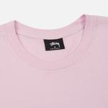 Мужская футболка Stussy Basic Light Lavender/Green фото- 1