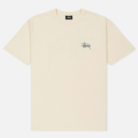 Мужская футболка Stussy Basic Natural