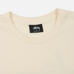 Мужская футболка Stussy Basic Natural фото- 1