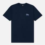 Мужская футболка Stussy Basic Navy фото- 0