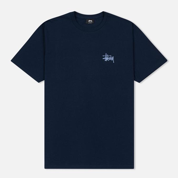 Мужская футболка Stussy Basic Navy