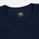 Мужская футболка Stussy Basic Navy фото- 1