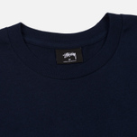 Мужская футболка Stussy Basic Navy/White фото- 1