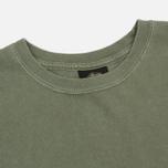Мужская футболка Stussy Basic Pigment Dyed Olive фото- 1