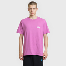 Мужская футболка Stussy Basic Stussy Berry фото- 2