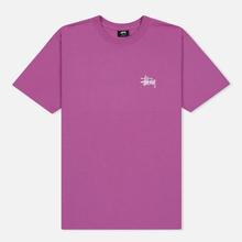 Мужская футболка Stussy Basic Stussy Berry фото- 0