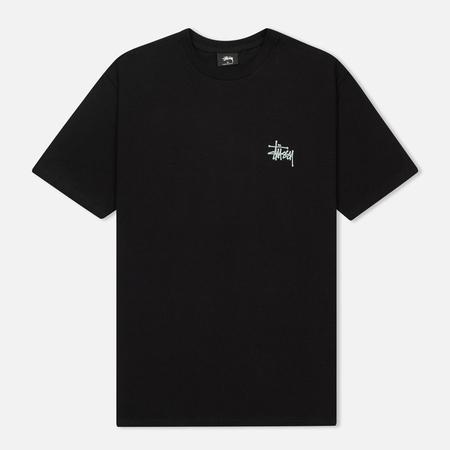 Мужская футболка Stussy Basic Stussy Black
