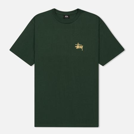 Мужская футболка Stussy Basic Stussy Dark Forest