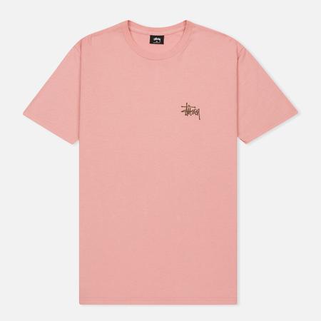 Мужская футболка Stussy Basic Stussy Dusty Rose