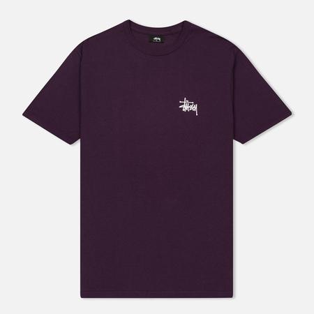 Мужская футболка Stussy Basic Stussy Grape