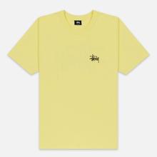 Мужская футболка Stussy Basic Stussy Lemon фото- 0