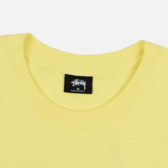 Мужская футболка Stussy Basic Stussy Lemon