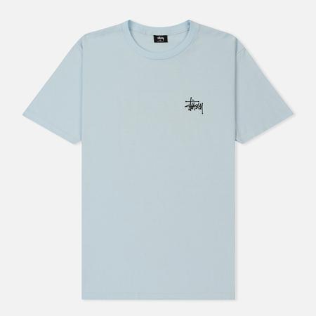 Мужская футболка Stussy Basic Stussy Light Blue
