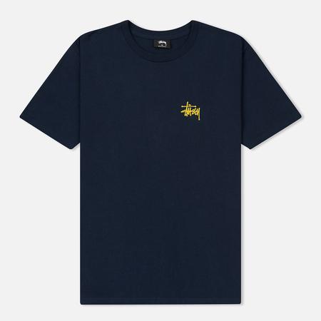 Мужская футболка Stussy Basic Stussy Navy