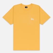 Мужская футболка Stussy Basic Stussy Orange фото- 0