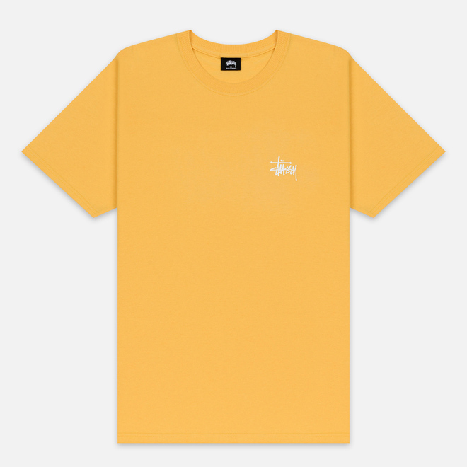 Мужская футболка Stussy Basic Stussy Orange