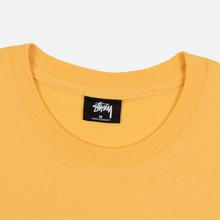 Мужская футболка Stussy Basic Stussy Orange фото- 1