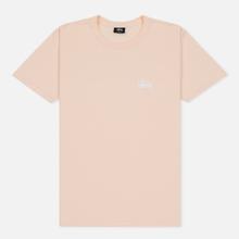 Мужская футболка Stussy Basic Stussy Pale Pink фото- 0