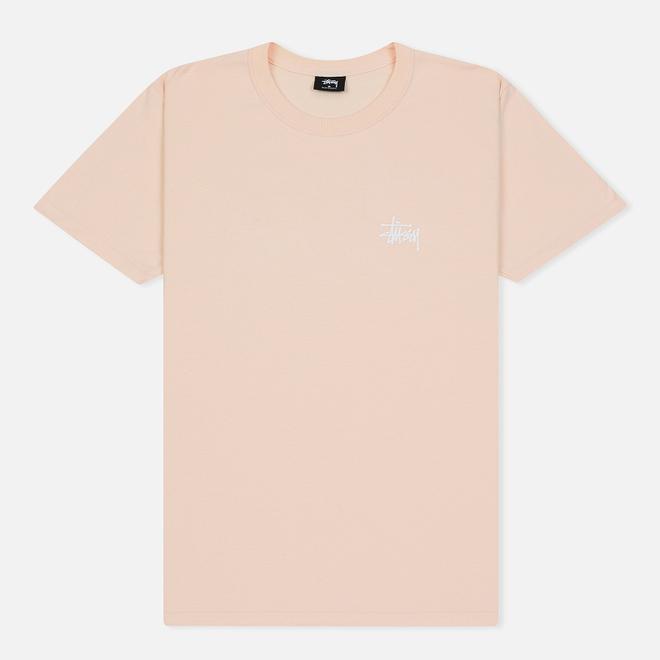 Мужская футболка Stussy Basic Stussy Pale Pink