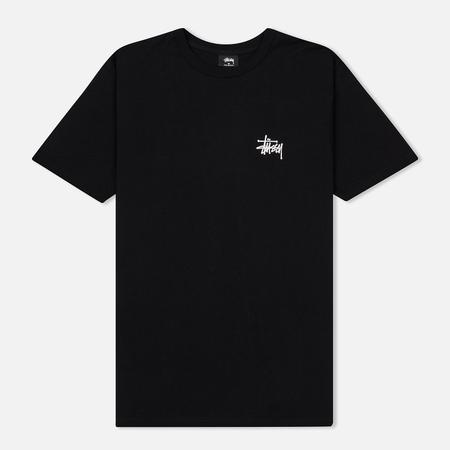 Мужская футболка Stussy Basic Stussy Printed Logo Black