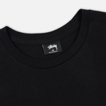 Мужская футболка Stussy Basic Stussy Printed Logo Black/White фото- 1