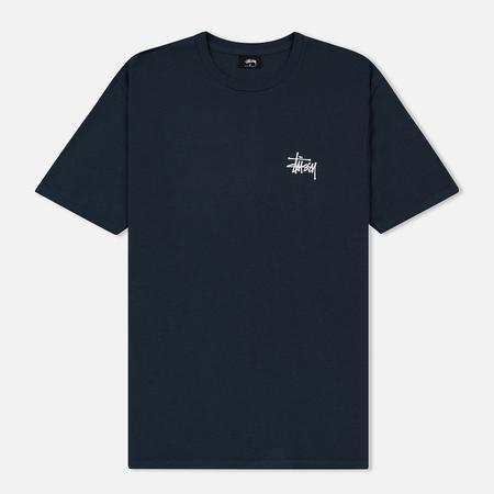 Мужская футболка Stussy Basic Stussy Printed Logo Ink