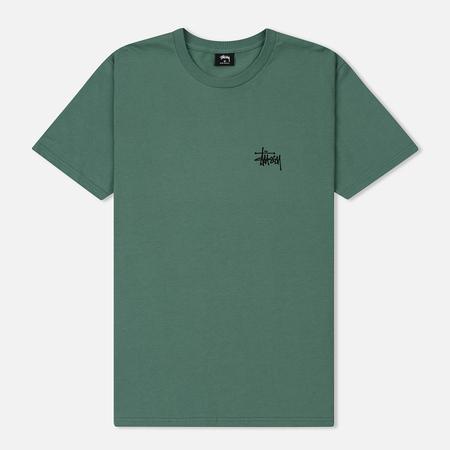Мужская футболка Stussy Basic Stussy Sage