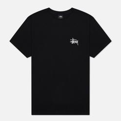 Мужская футболка Stussy Basic Stussy Screenprint Black
