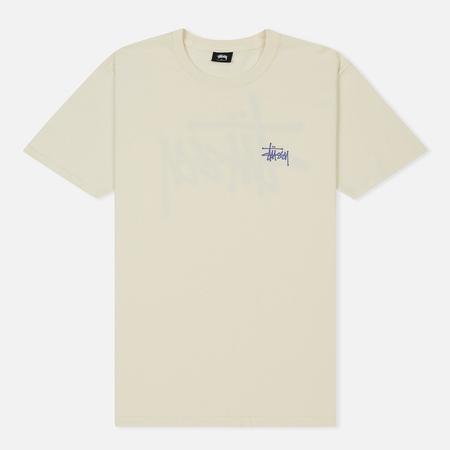 Мужская футболка Stussy Basic Stussy Vanilla