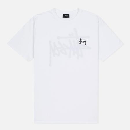 Мужская футболка Stussy Basic White