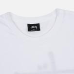 Мужская футболка Stussy Basic White фото- 1