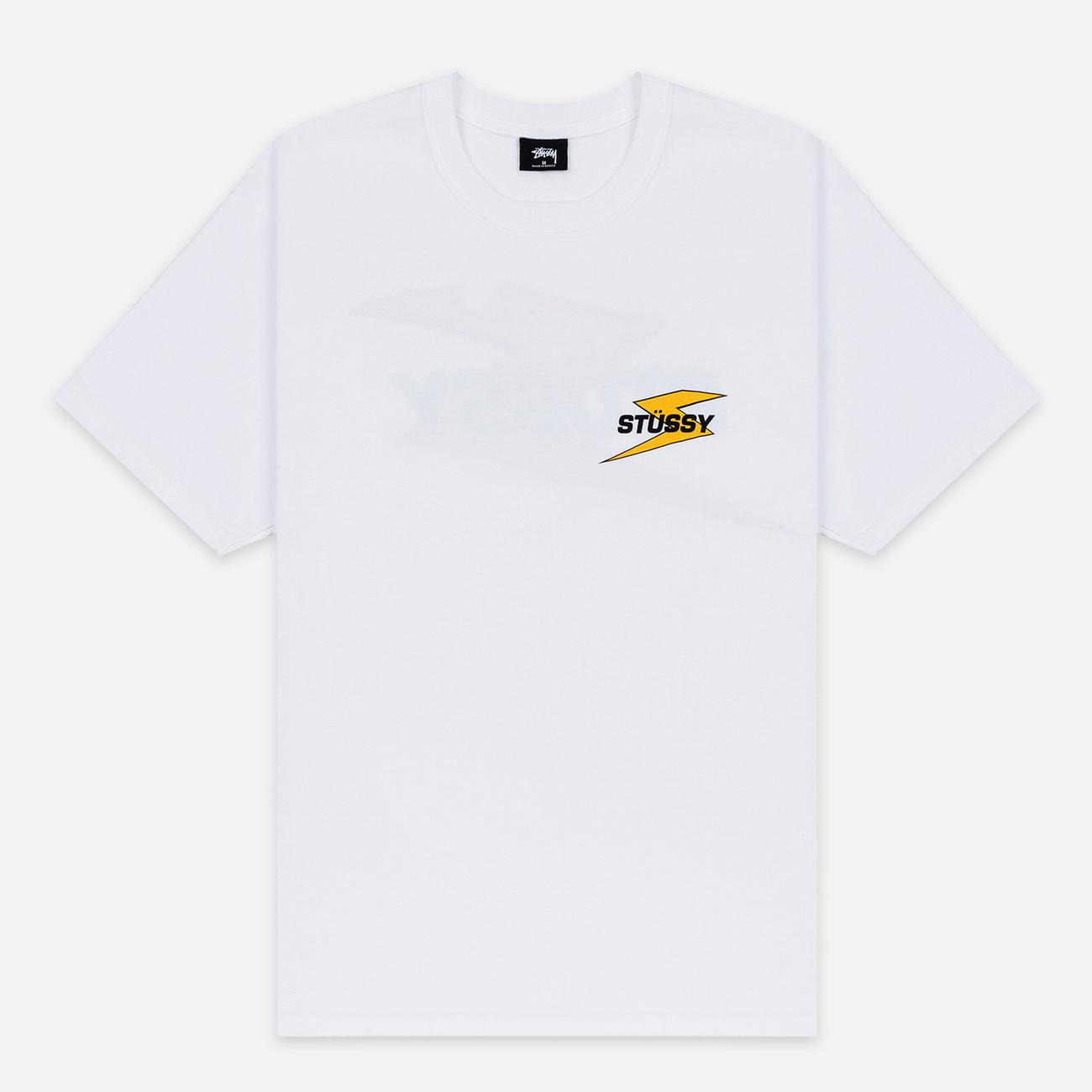 Мужская футболка Stussy Bolt White