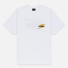 Мужская футболка Stussy Bolt White фото- 0