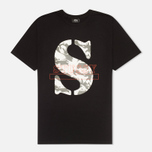 Stussy Camo S Men's T-shirt Black photo- 0