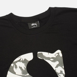 Stussy Camo S Men's T-shirt Black photo- 1