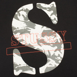 Stussy Camo S Men's T-shirt Black photo- 2