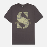 Мужская футболка Stussy Camo S Charcoal фото- 0