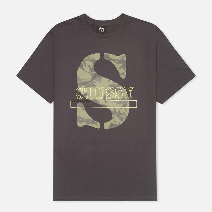 Мужская футболка Stussy Camo S Charcoal