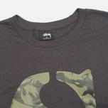 Мужская футболка Stussy Camo S Charcoal фото- 1