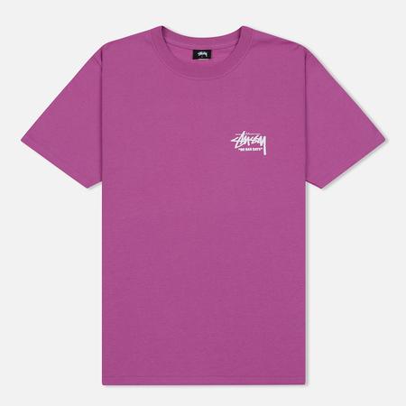 Мужская футболка Stussy Carnation Berry
