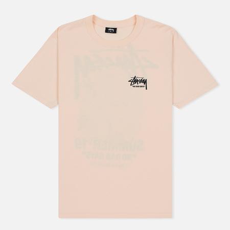 Мужская футболка Stussy Carnation Pale Pink